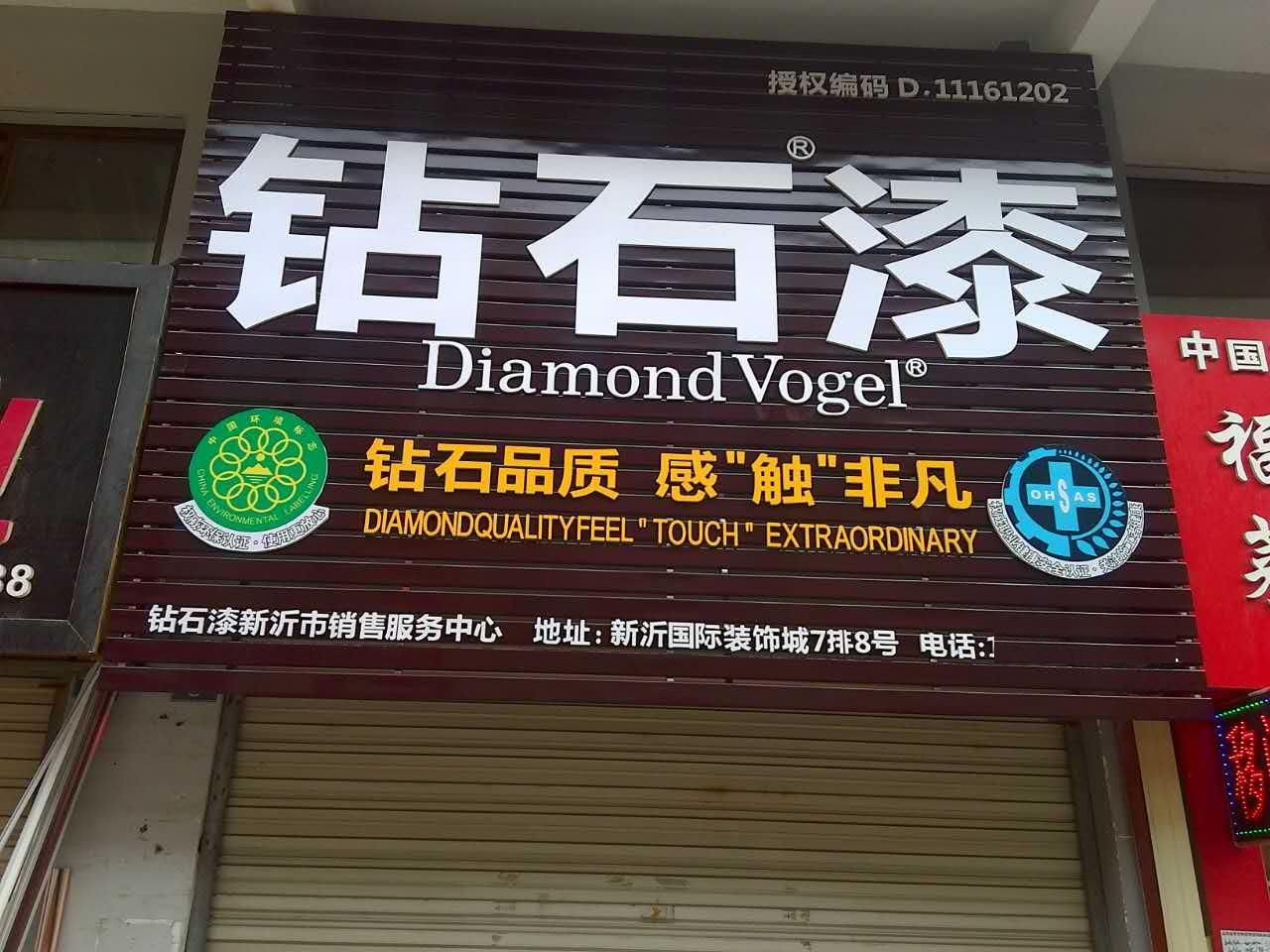 热烈庆祝钻石漆江苏新沂销售服务中心开业大吉!