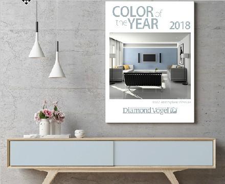 美国钻石涂料2018年度色彩