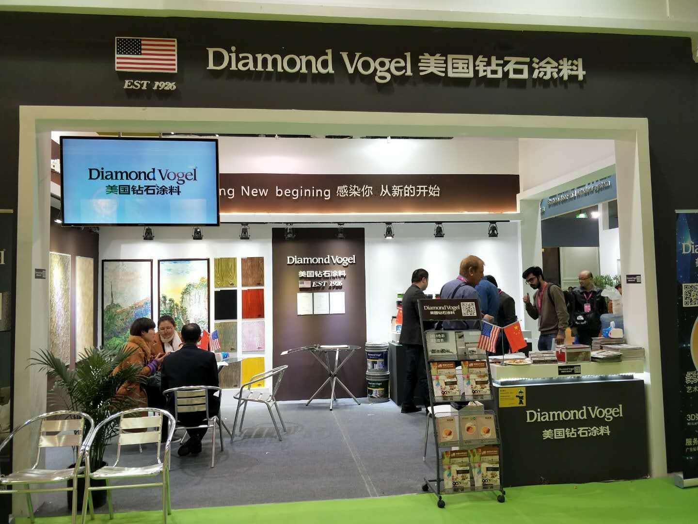美国钻石涂料-上海站,首战告捷