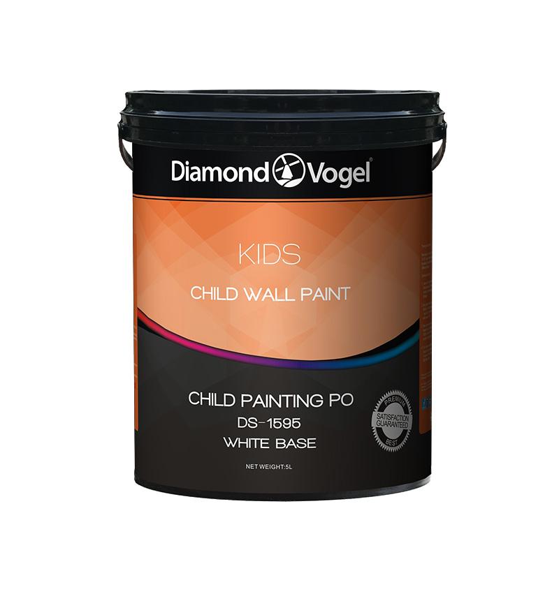 金钻水净儿童墙面漆5升