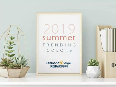 美国钻石涂料2019夏季色彩趋势