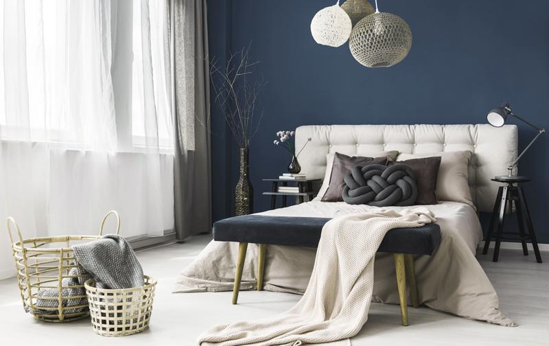 Blissful Blues Bedroom Inspiration