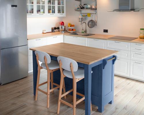 Blissful Blues Kitchen Inspiration