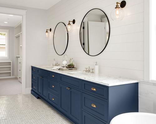 Blissful Blues Bathroom Inspiration