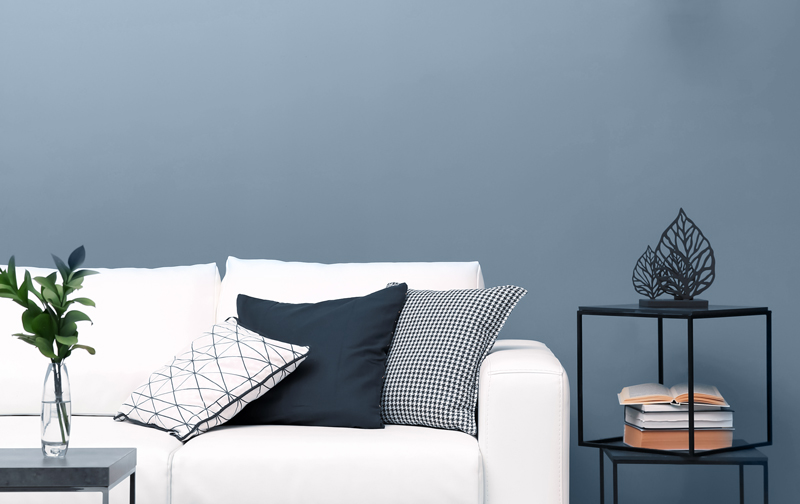 Blissful Blues Couch Inspiration