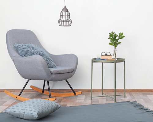 Blissful Blues Rocking Chair Inspiration