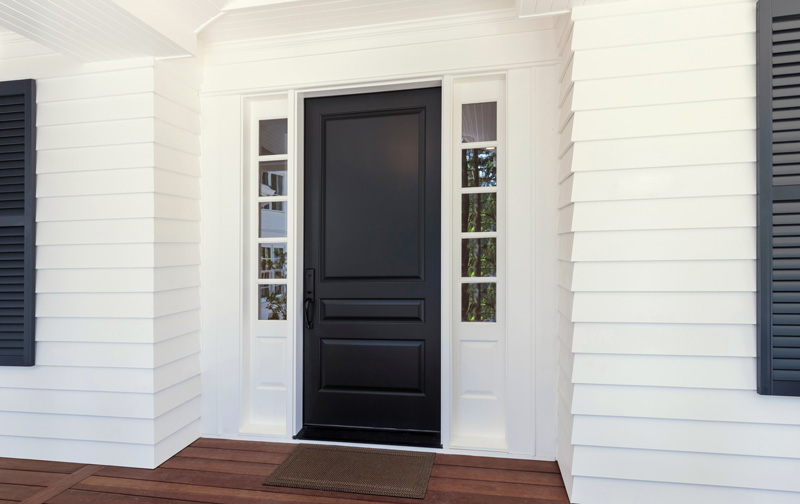 Think Outside Black Door Inspiration