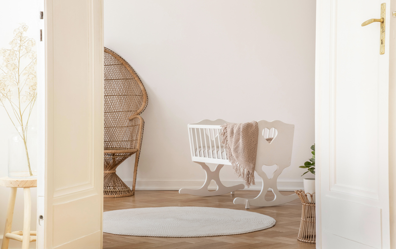 Natural Whites Nursery Inspiration