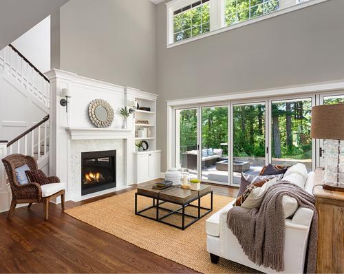 Light Lichen living room